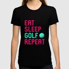 Eat Sleep Golf Driving Range Golfer T-shirt