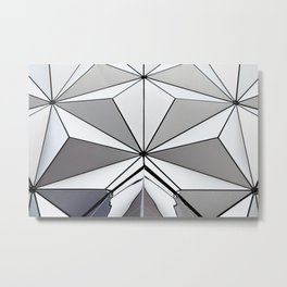 Spaceship Earth Metal Print