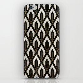 Art Deco Marble Pattern iPhone Skin