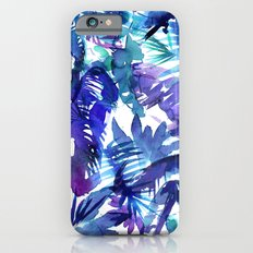 Vibe of the JUNGLE  {B-Blue} iPhone 6s Slim Case