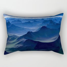 Peaks BG Rectangular Pillow