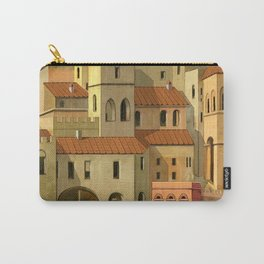 Medieval city Carry-All Pouch
