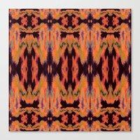 kilim Canvas Prints featuring Azra Kilim by Nina May Designs