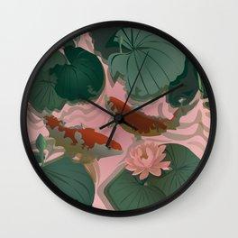 Carp Koi Wall Clock