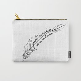 JSS feather Carry-All Pouch