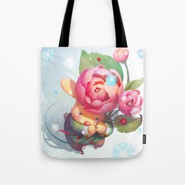 The Sound of Snow falling Tote Bag