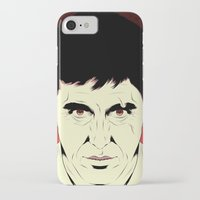 scarface iPhone & iPod Cases featuring Scarface by Renan Lacerda