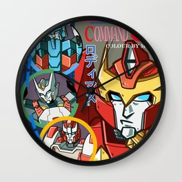 Lost Light Command Mistakes Wall Clock