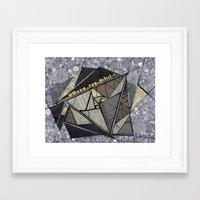 fibonacci Framed Art Prints featuring fibonacci by ephemerality