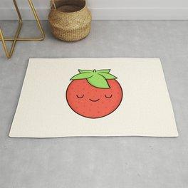 Happy Strawberry Rug