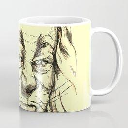 Lion - Yellow Pathway Coffee Mug