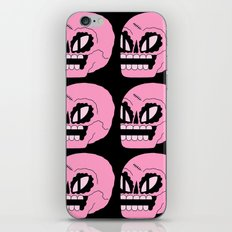 Cosmic Skull Repeat iPhone Skin