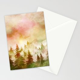 Into The Forest X Stationery Cards