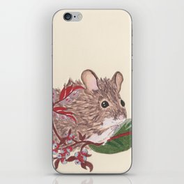 Field Mouse iPhone Skin