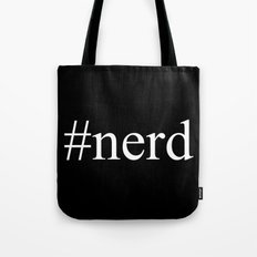 nerd  |  Hashtag Series  Tote Bag