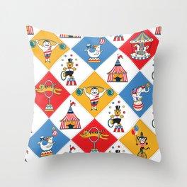 Baby Circus Throw Pillow