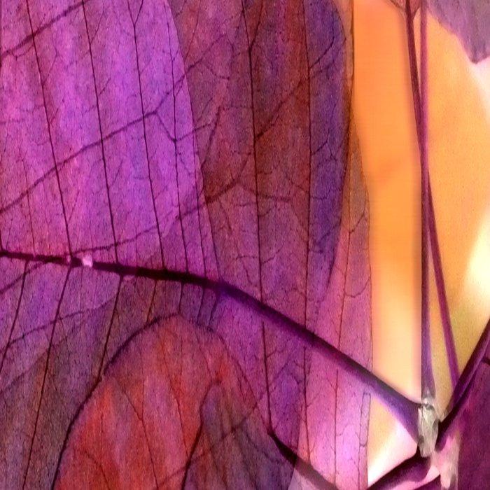Purple Foliage Leggings