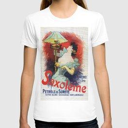 Saxoleine lamp oil ad T-shirt