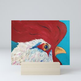 Rise and Shine, Rooster #2 Mini Art Print