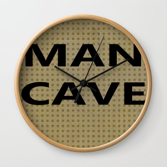 Man cave on tan by artsyheart