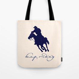 Cowboy Outlaw Tote Bag