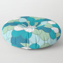 Patched Up Floor Pillow