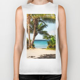 Ocean Travel Tropical Beach Biker Tank