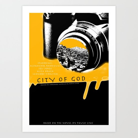 City of God Art Print