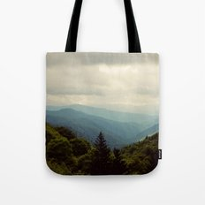 THE LIGHT THROUGH THE CLOUDS Tote Bag