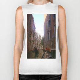 enjoyable gondola in Venice Biker Tank