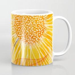Tuesday Afternoon Sunflowers Coffee Mug