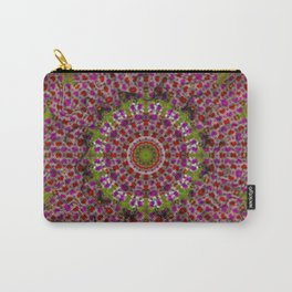 Abstract Circus Mandala Painting Carry-All Pouch