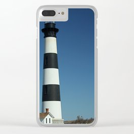 Iceland Bodie Lighthouse Clear iPhone Case
