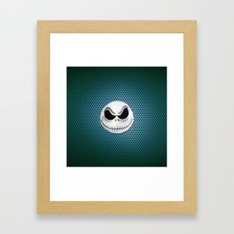 jack skellington Framed Art Print