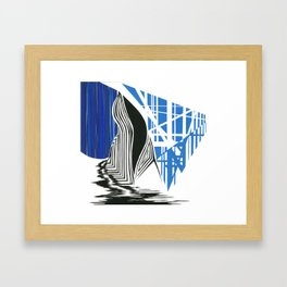 In the Land of Water Nymphs Framed Art Print