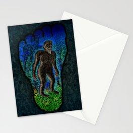 Big Foot Woodsman Stationery Cards