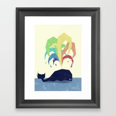 Rainbow Warrior Framed Art Print