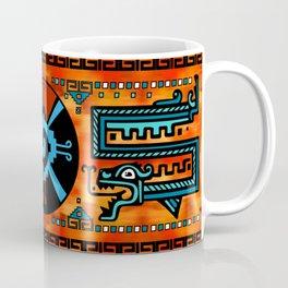 Colorful Hunab Ku Mayan symbol #6 Coffee Mug