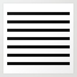 Earn Your Stripes Art Print