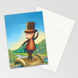 Professor Layton Stationery Cards