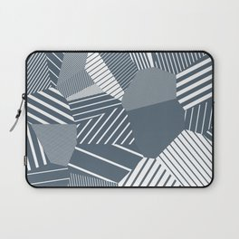 Finite resistance #83 - Voronoi Stripes Laptop Sleeve