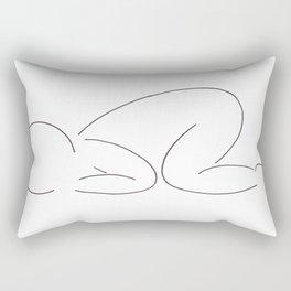 Baby Sleeping Rectangular Pillow