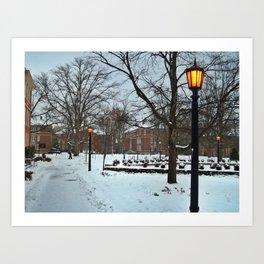 The University of North Carolina Art Print