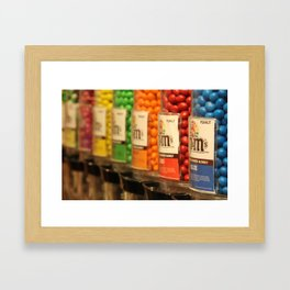 M&Ms Framed Art Print