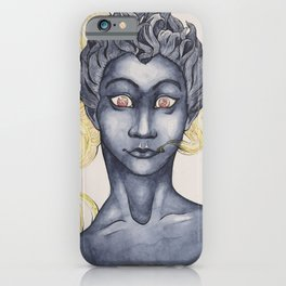 Shadow Babe iPhone Case