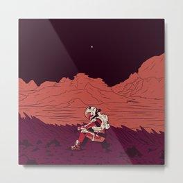 The Martian Metal Print