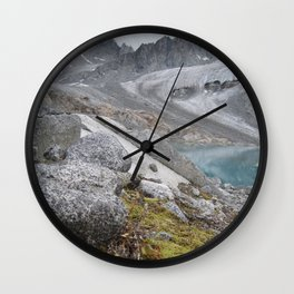 AK Pennyroyal Glacier Wall Clock