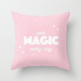Seek Magic Throw Pillow