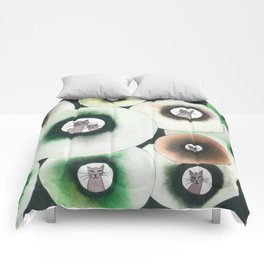 Lolo Whimsical Cats Comforters