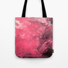 Pink and Purple Abstract I Tote Bag